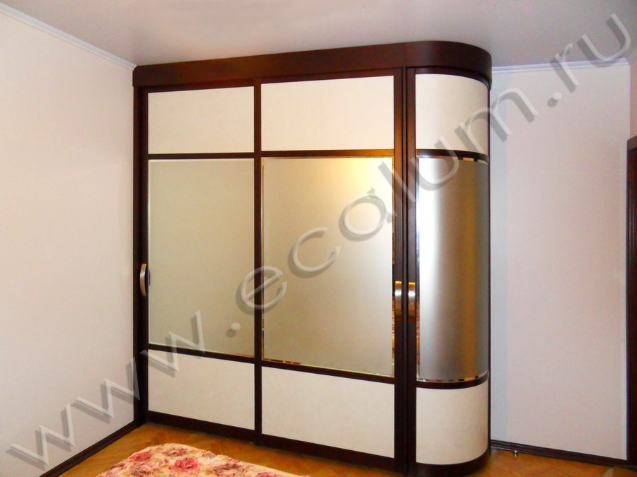 Шкафы-купе элитные, угловые шкафы купе на заказ - цены и фот.