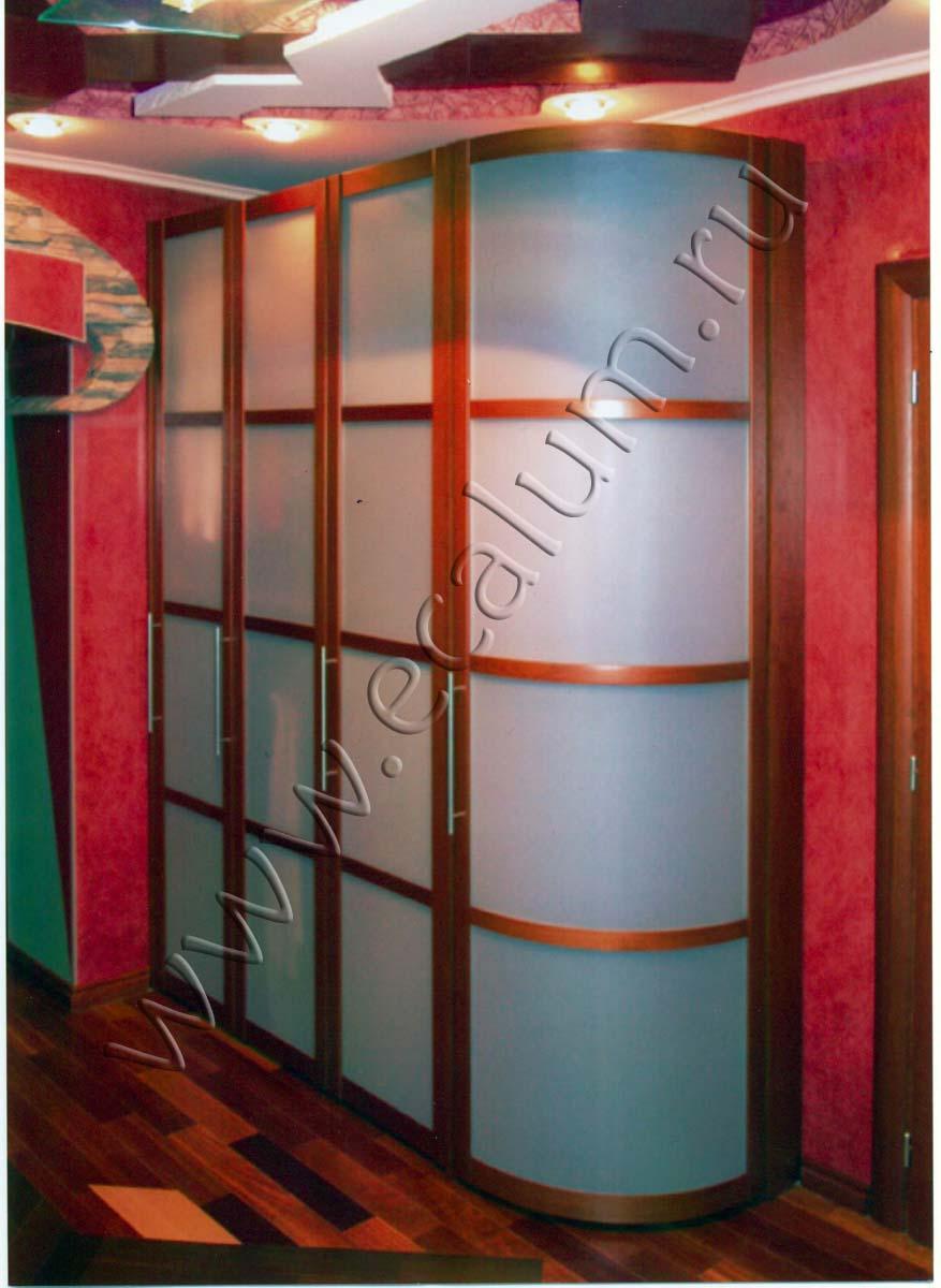 Шкаф в детскую (матовое стекло) - kupe-systems.